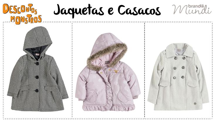 86d2319c6 Jaquetas e casacos Brandili Mundi com Descontos Monstros na nossa ...