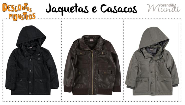 Jaquetas e casacos infantis em promoção