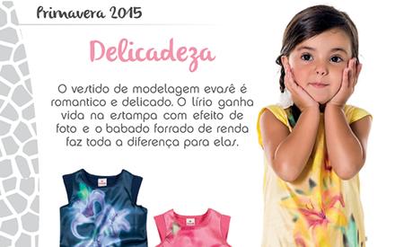 Look infantil Primavera 2015