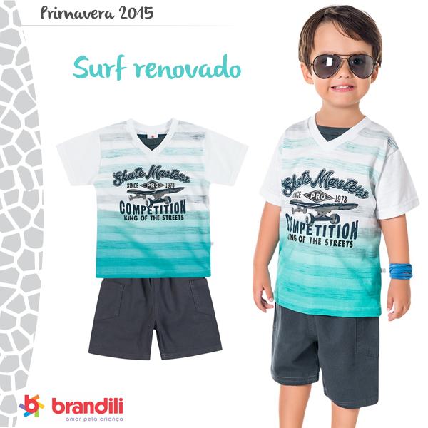 Look infantil Surf Brandili