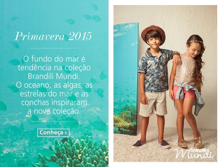 Roupas Brandili Mundi Primavera 2015