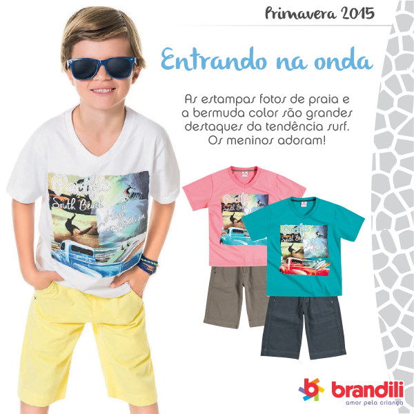 Tendência de moda infantil Primavera 2015: entrando na