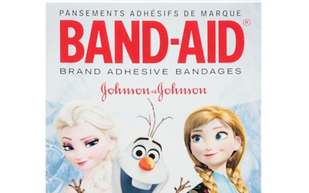 Band-aid Frozen