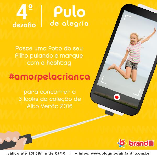 Desafio Brandili #AmorPelaCrianca