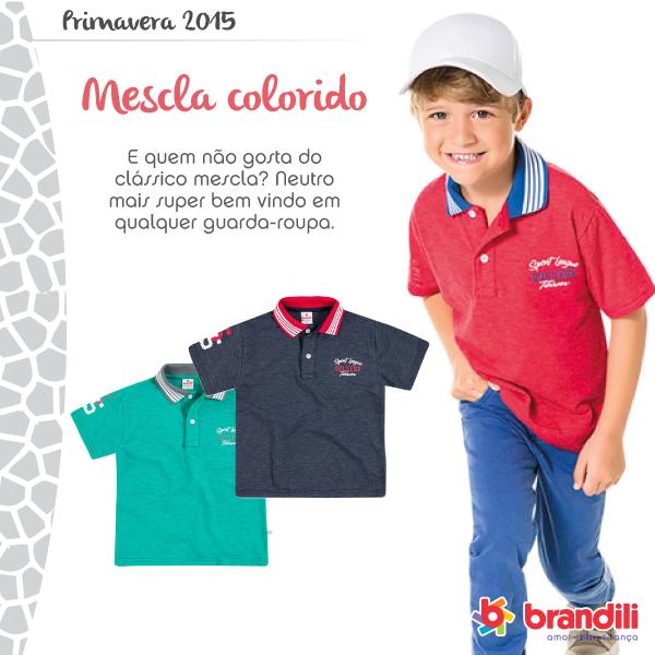 Coleção Primavera 2015 Brandili