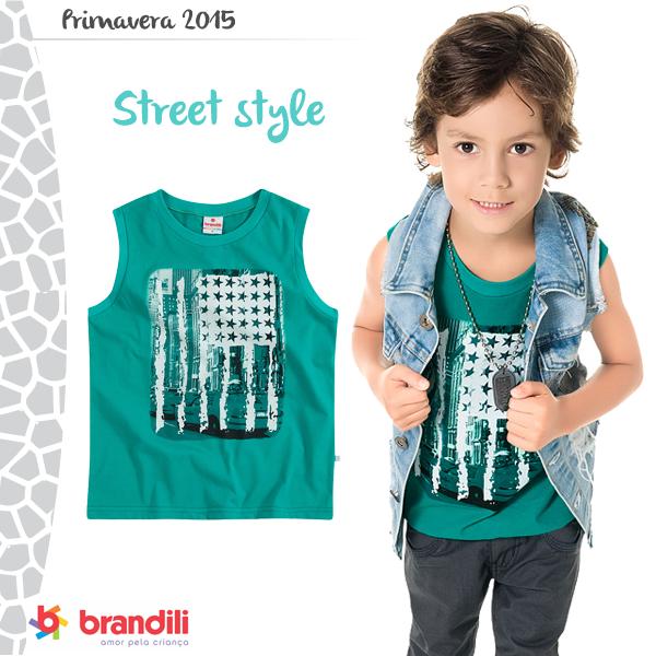 Como usar Street Style para crianças