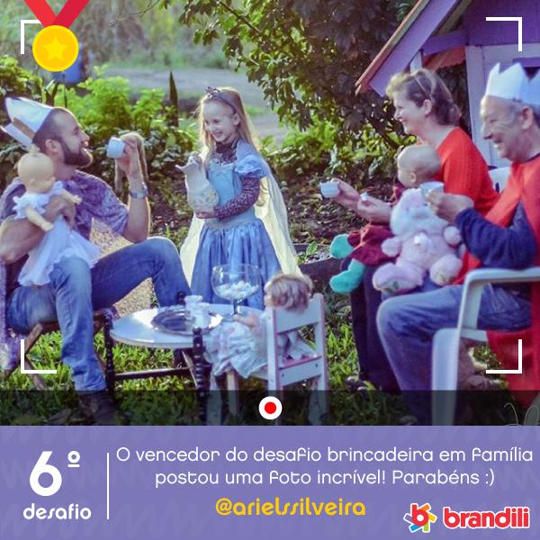 Vencedor 6º Desafio Brandili Amor pela Criança