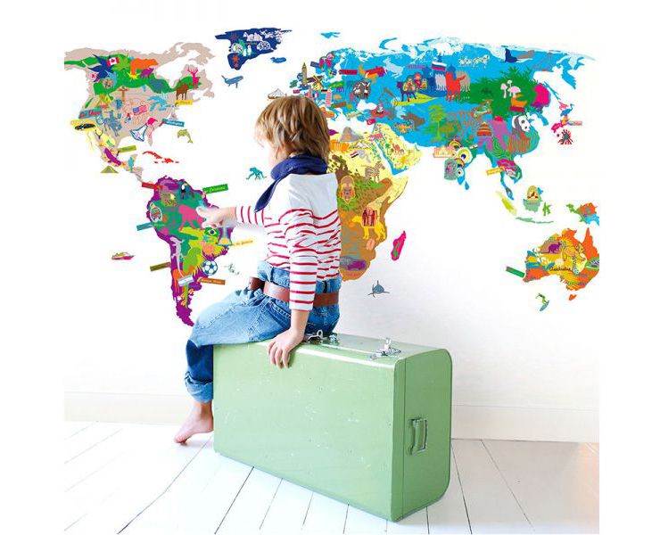 Mapa do Mundo Mimi'lou