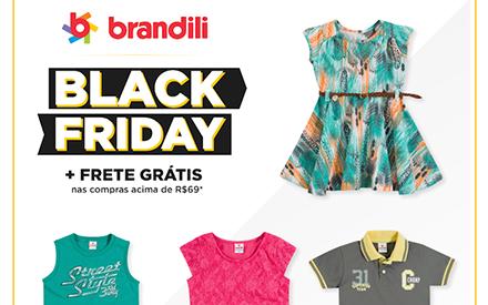 Roupa infantil em promoção: vem ver a Black Friday 2015 Brandili