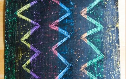 Desenho arco-íris