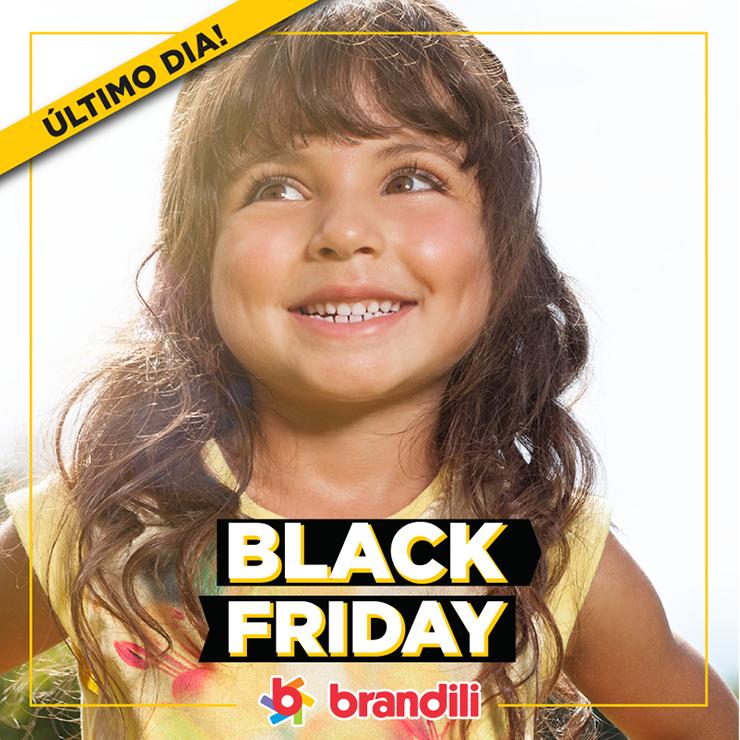 Último dia para aproveitar a Black Friday 2015 Brandili!