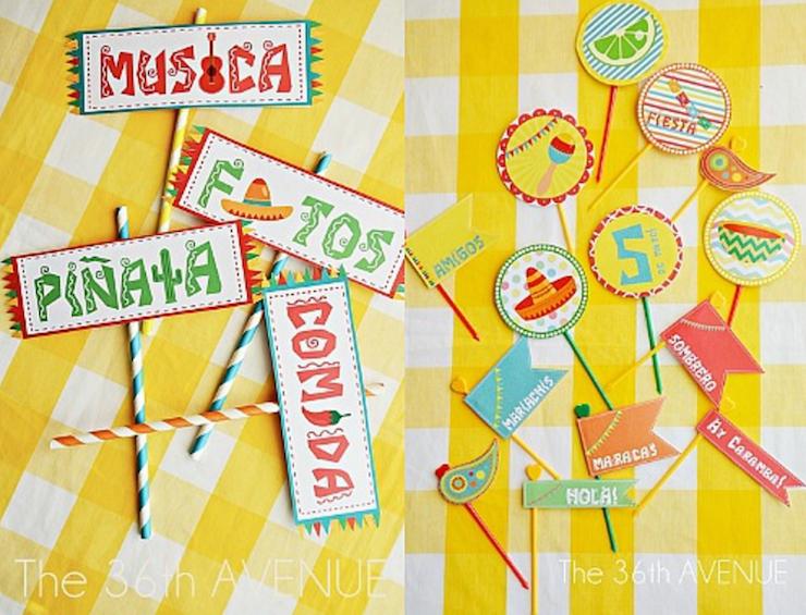 4 kits para imprimir (de graça) e animar a sua festa infantil