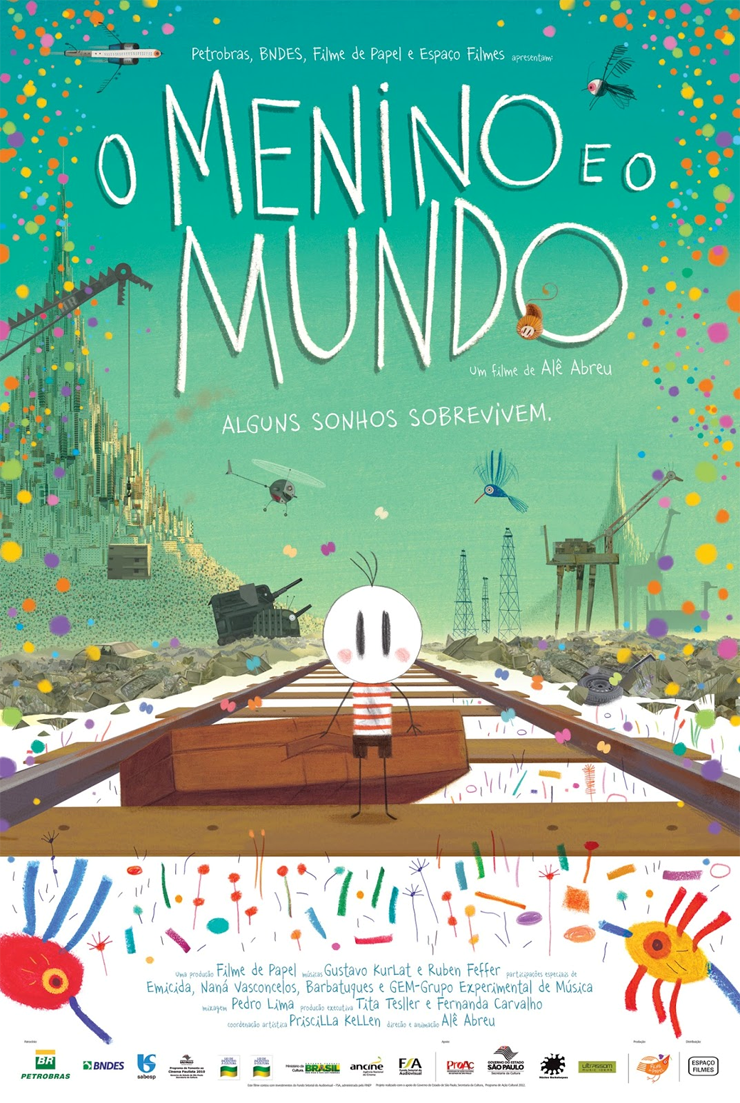"""Animação brasileira """"O Menino e o Mundo"""" é indicada ao Oscar"""