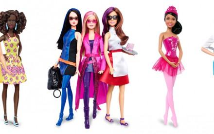 A evolução da Barbie: boneca ganha novos tipos de corpo e tons de pele