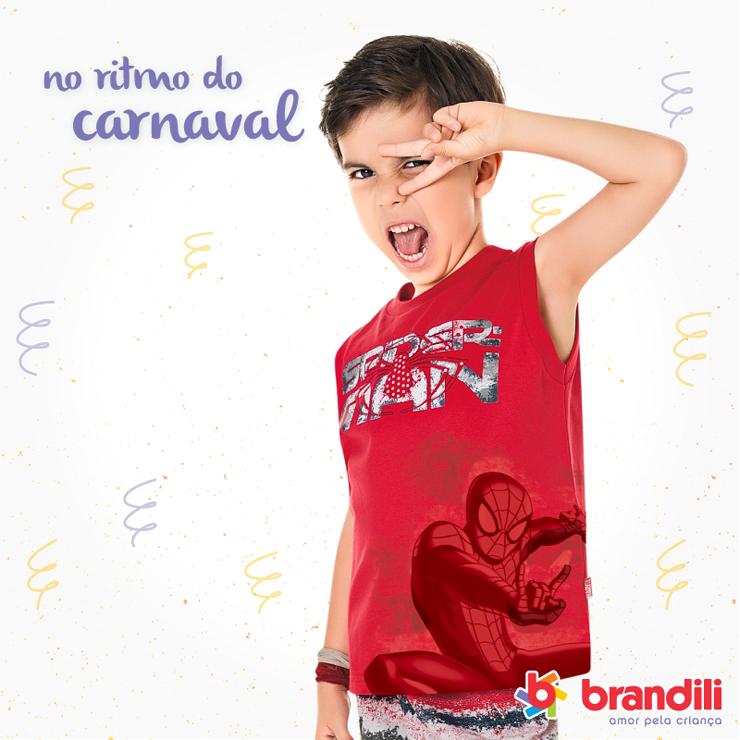 Dicas de looks Brandili para a criançada cair na folia