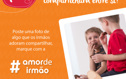 Saiu o 4º Desafio #AmorDeIrmão! Tá esperando o que para entrar?