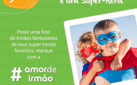 Já está valendo o 5º (e penúltimo) Desafio Brandili #AmorDeIrmão