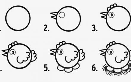 10 desenhos em círculos fáceis de fazer com os pequenos