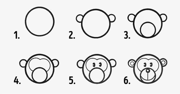 Excepcional Diversão em círculos: 10 desenhos fáceis para fazer com os  FV69