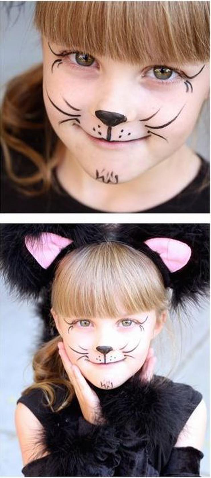 Diversão garantida: maquiagem de Carnaval para crianças