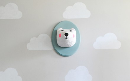 Estêncil de nuvem: ideia para decorar o quarto dos pequenos gastando pouco