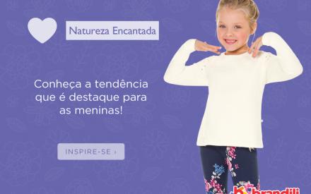 Natureza Encantada: tendência de moda infantil para as meninas