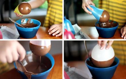 Tigela de chocolate: receita fácil para fazer com as crianças