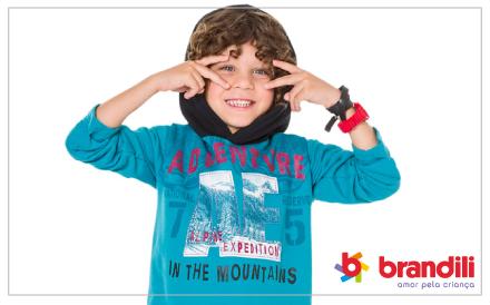 Conheça a coleção Inverno 2016 Brandili Club: roupas alegres como as crianças