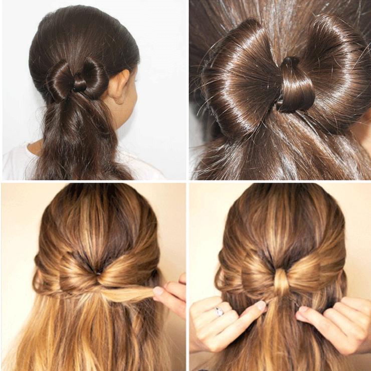 Laço feito de cabelo: veja o passo a passo deste penteado fofo