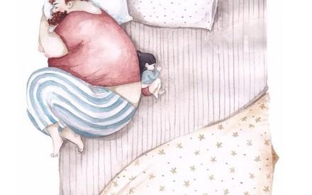 Para emocionar os paizões: série de ilustrações lindas mostra o amor entre pais e filhas