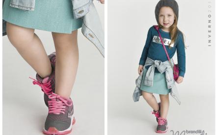 BrandiDrops de moda infantil: vestido com tênis combina?
