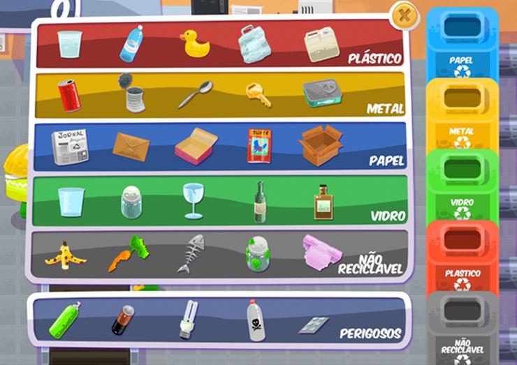Brincando e aprendendo: jogo ensina a importância da reciclagem para as crianças