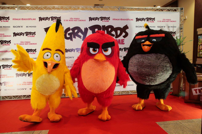 """""""Angry Birds - O Filme"""" já está nos cinemas!"""