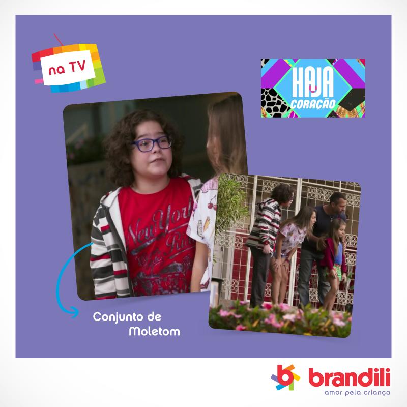 Bradilindos na TV! Coleção Inverno Brandili veste os pequenos em novelas globais