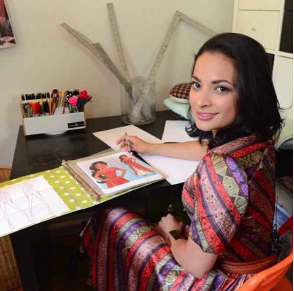 Estilista brasileira desenha vestido de Elena, a primeira princesa latina da Disney