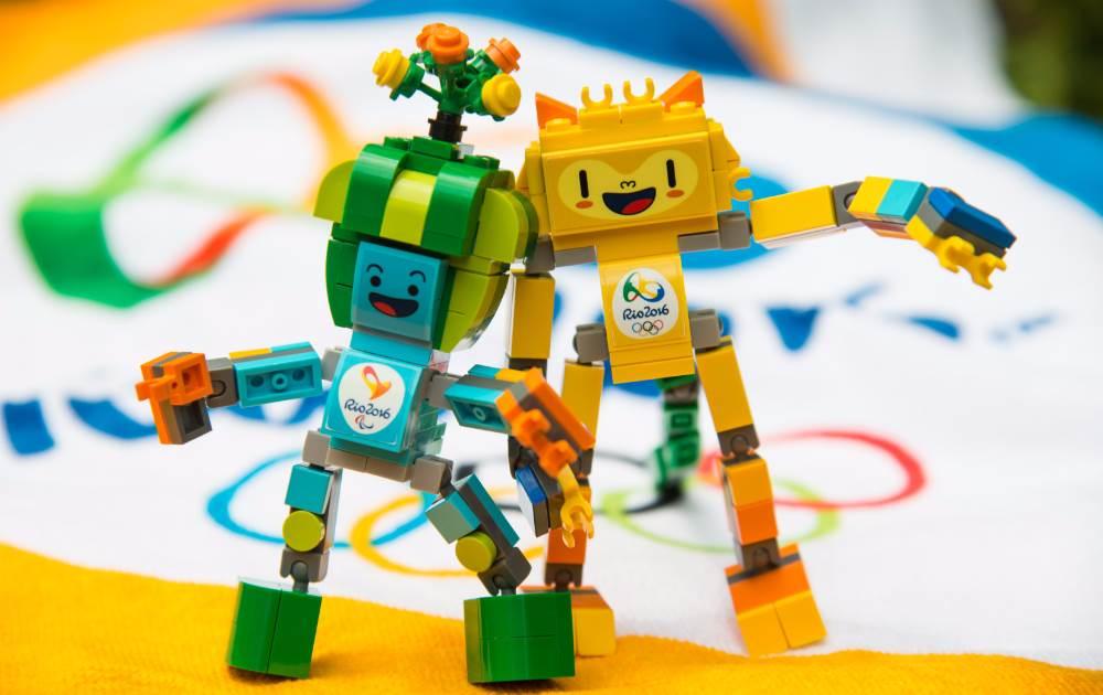Para brincar e colecionar: mascotes dos Jogos Rio 2016 ganham bonecos de Lego