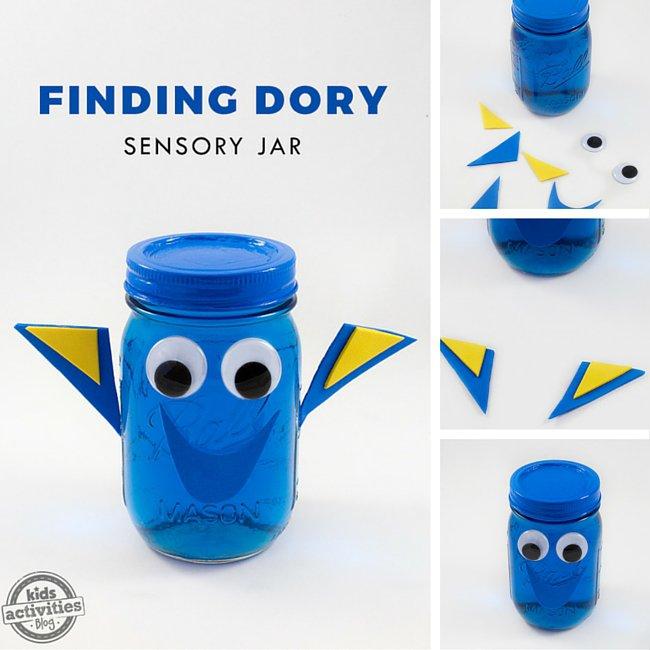 """Aprenda como fazer o """"pote da calma"""" da peixinha Dory"""