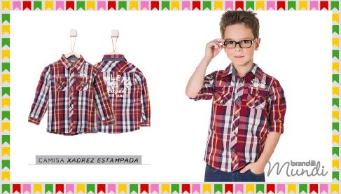 Festa junina e xadrez  tudo a ver! - Blog Moda InfantilBlog Moda Infantil 5636e0ed055