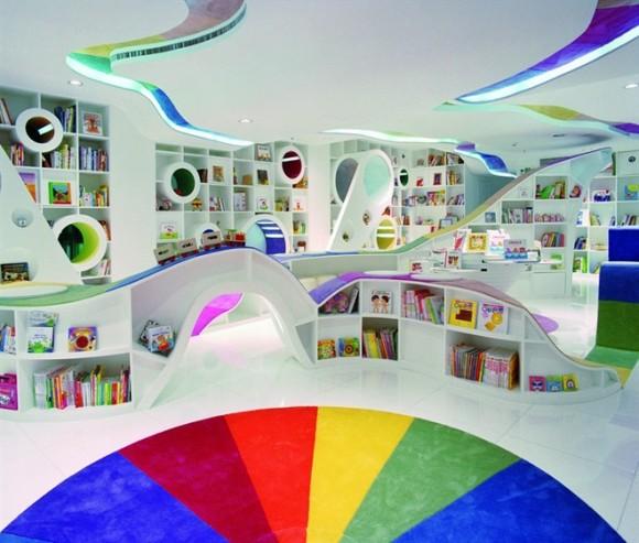 As bibliotecas infantis mais inspiradoras do mundo