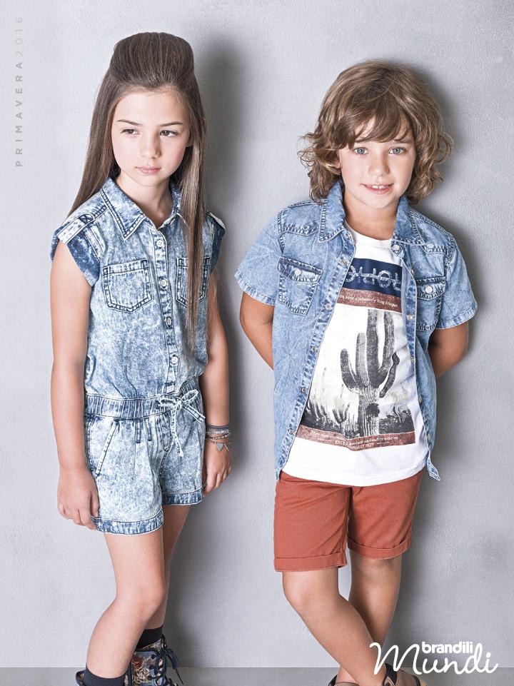 bad847df5e Muito estilo para as crianças na Primavera 2016! Conheça a Coleção Brandili  Mundi