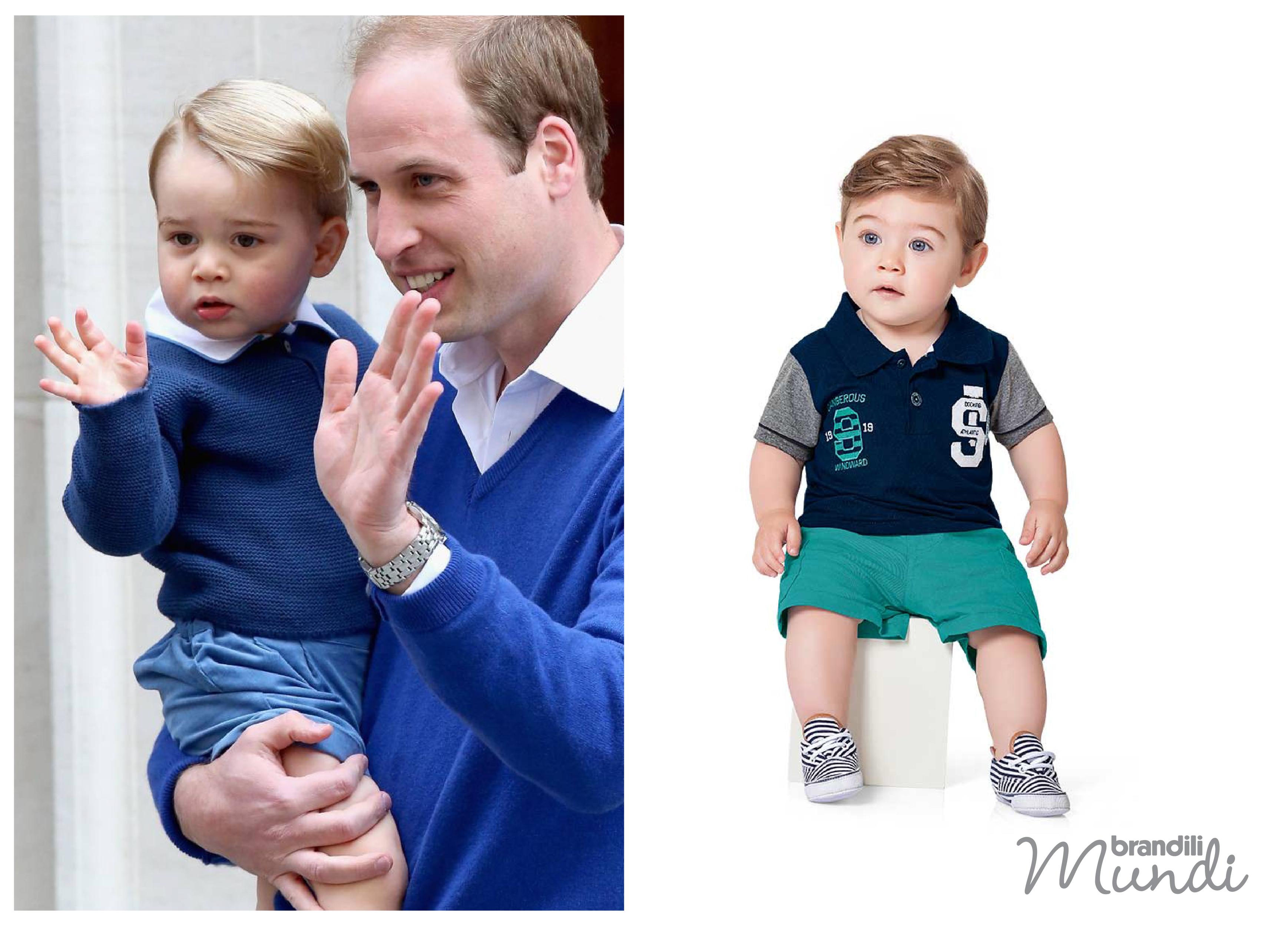 Ideias de looks inspiradas no príncipe George