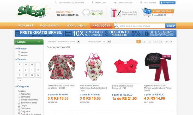 Novidade no ar: agora você também encontra as roupas da Brandili na loja virtual da Sivesti