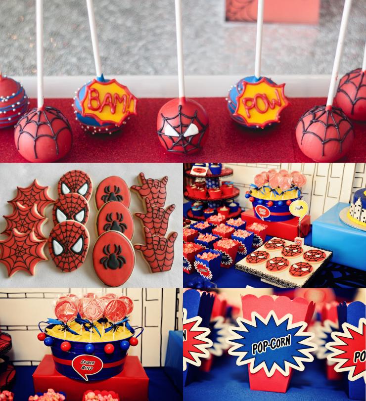 Decoração Infantil: ideias para fazer uma festa de aniversário do Homem Aranha