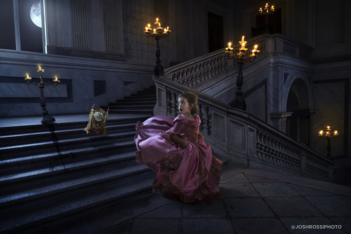 Presente dos sonhos: pai surpreende filha com ensaio fotográfico inspirado em A Bela e a Fera