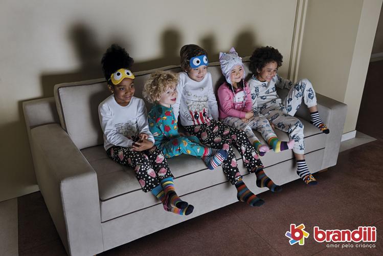 Hora de Dormir Brandili: pijamas quentinhos para os pequenos cairem no sono e na diversão