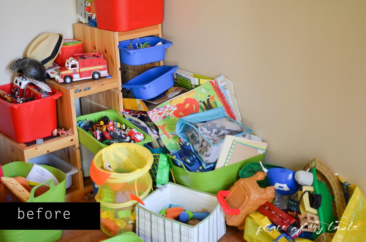 5 ideias criativas para organizar os brinquedos das crianças