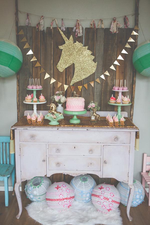 Decoração De Festa Infantil O Tema Unicórnios é A Novidade Blog