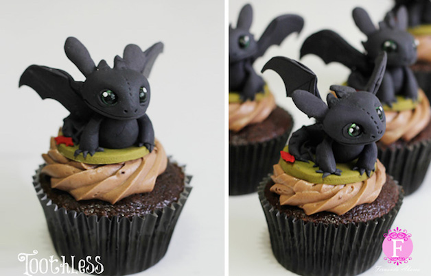 Conheça a brasileira ilustradora que reproduz personagens em cupcakes incríveis