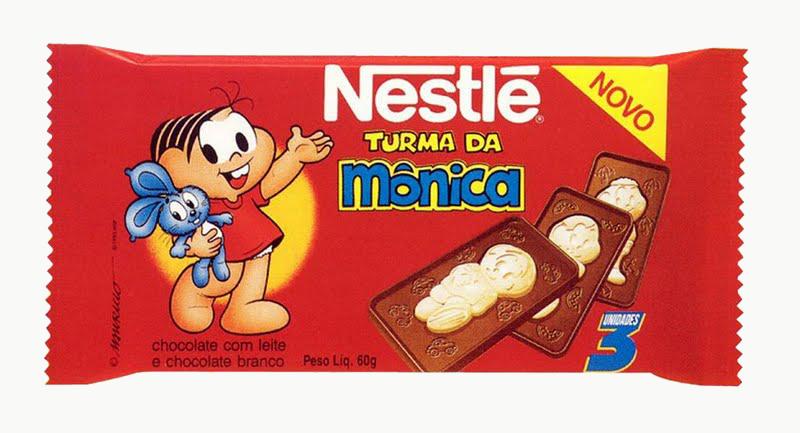 Sabor de nostalgia: chocolate da Turma da Mônica irá voltar