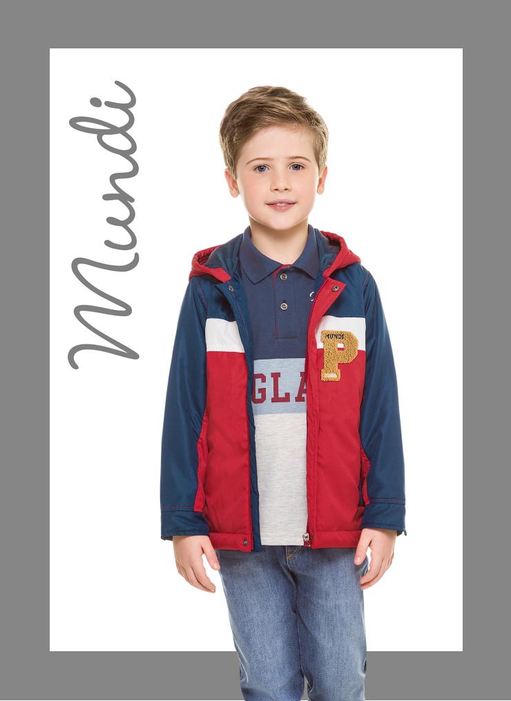 Jaquetas para esquentar o inverno dos meninos com estilo